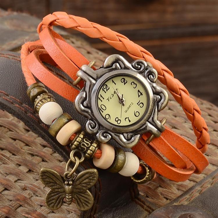 Часы женские своими руками
